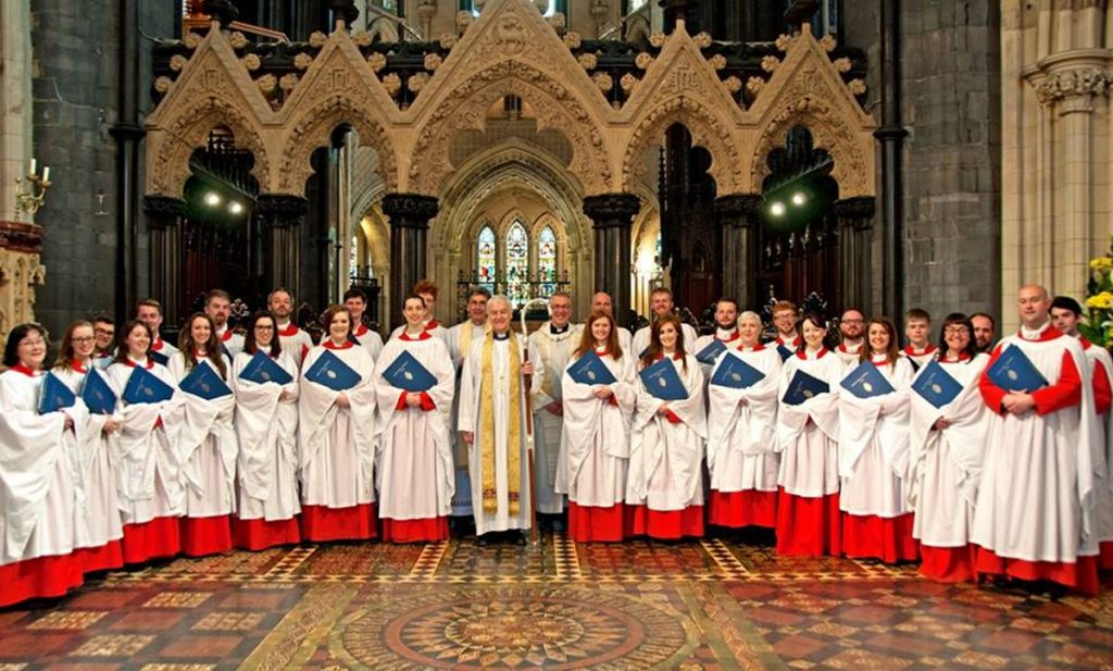 The Choir of Christ Church Cathedral Dublin