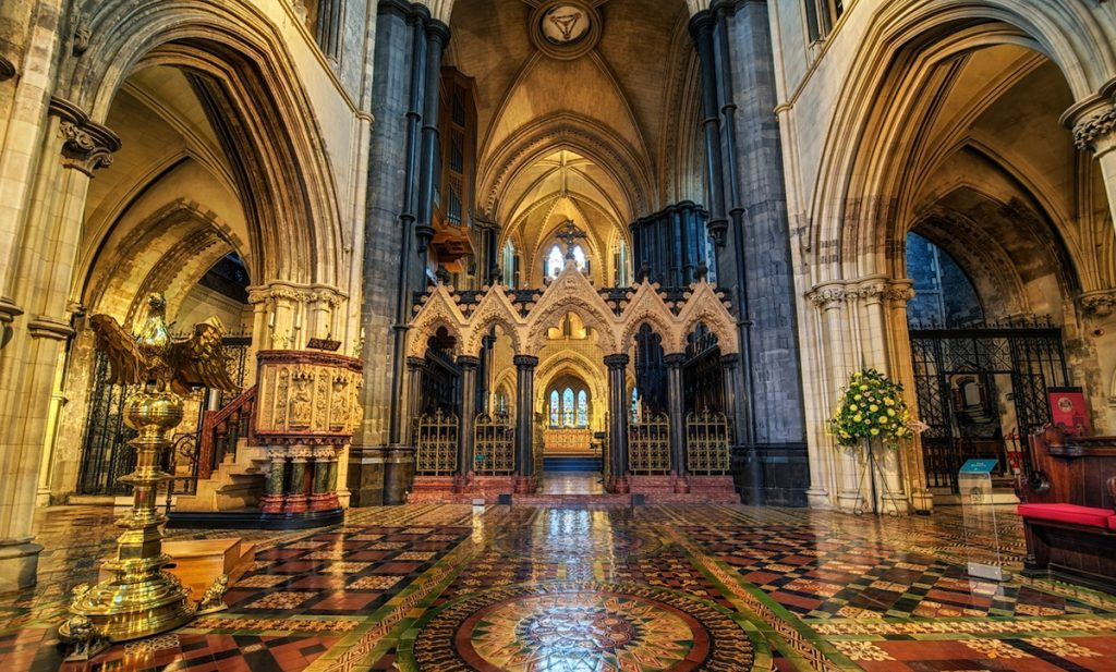 The altar at Christ Church Cathedral