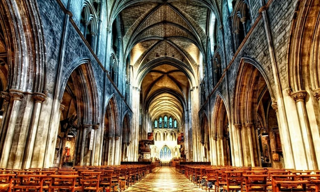 St Patrick's Cathedral Dublin 1986