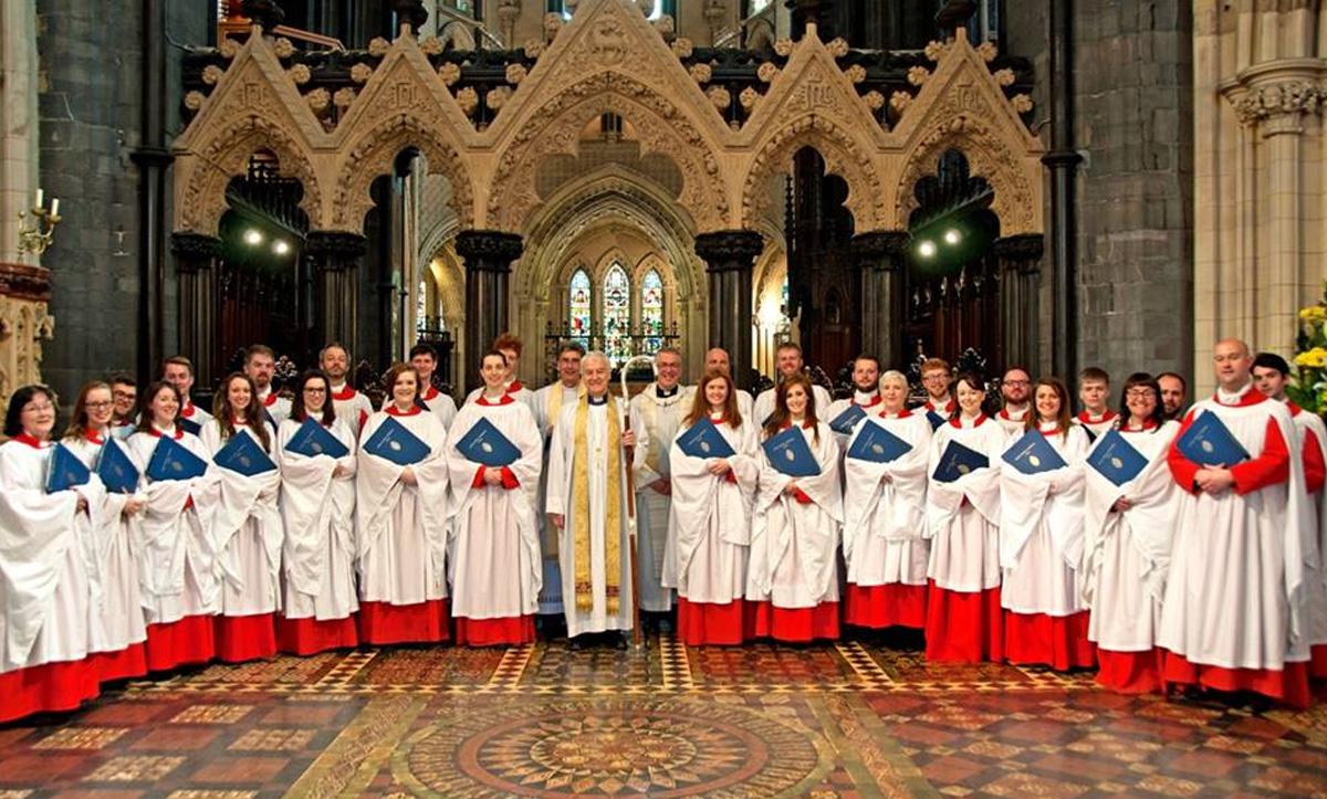The Choir of Christ Church Cathedral Dublin