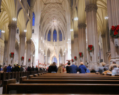 Mass at St.Patrick's Cathedral